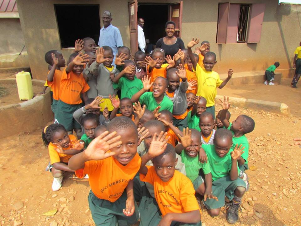 Children at Jolly Mercy Learning Centre